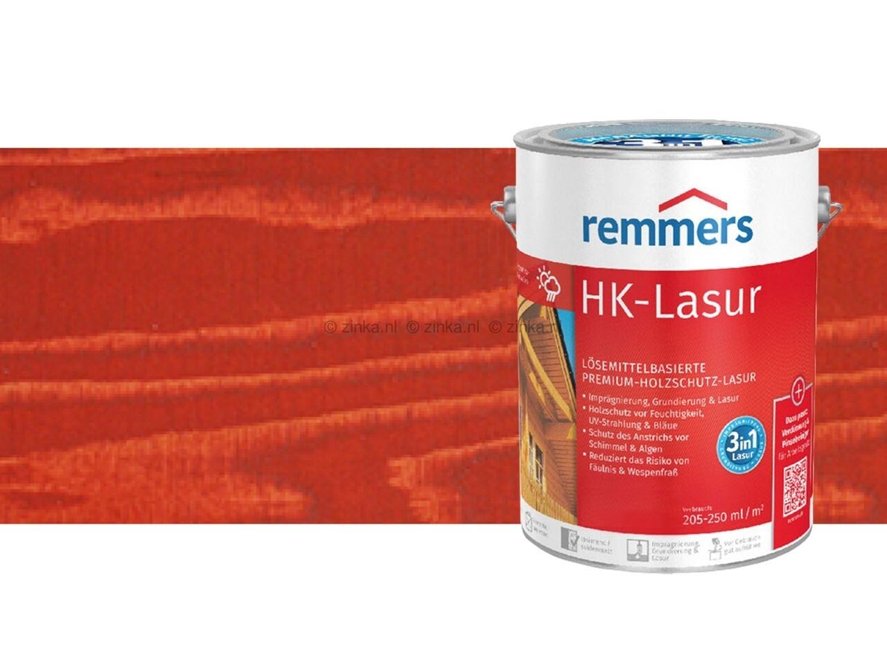 HK-Lazuur Canadees Rood 100 ml proefverpakking