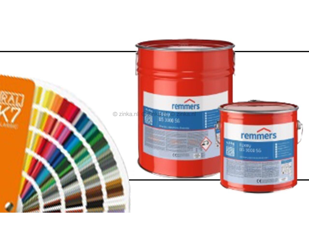 Epoxy BS 3000 zijdeglans RAL-kleuren