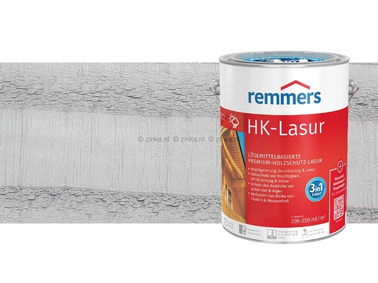 HK-Lazuur Leemgrijs 100 ml proefverpakking