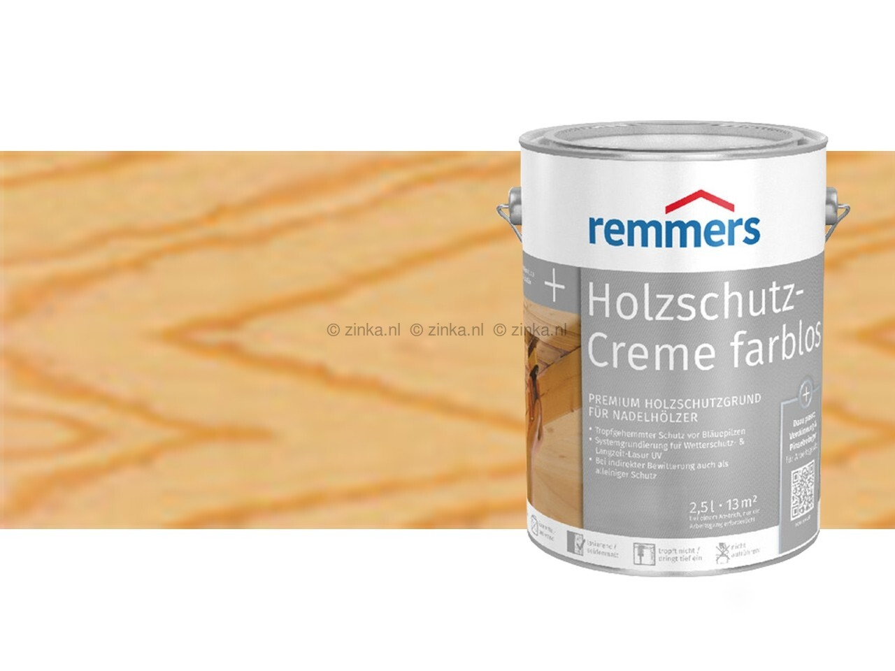 Houtbescherming creme - Kleurloos 100 ml proefverpakking