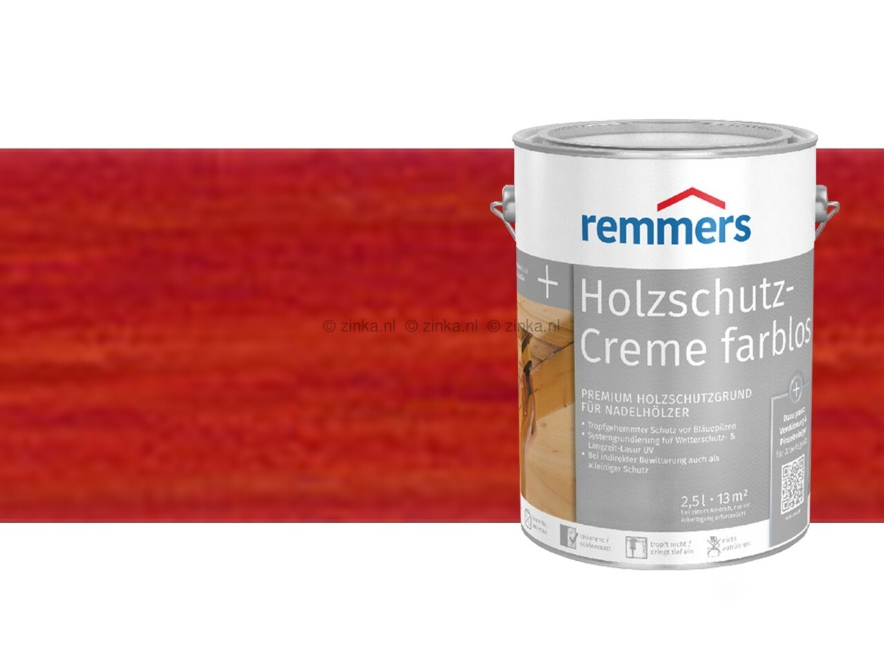 Houtbescherming creme - Mahonie 100 ml proefverpakking