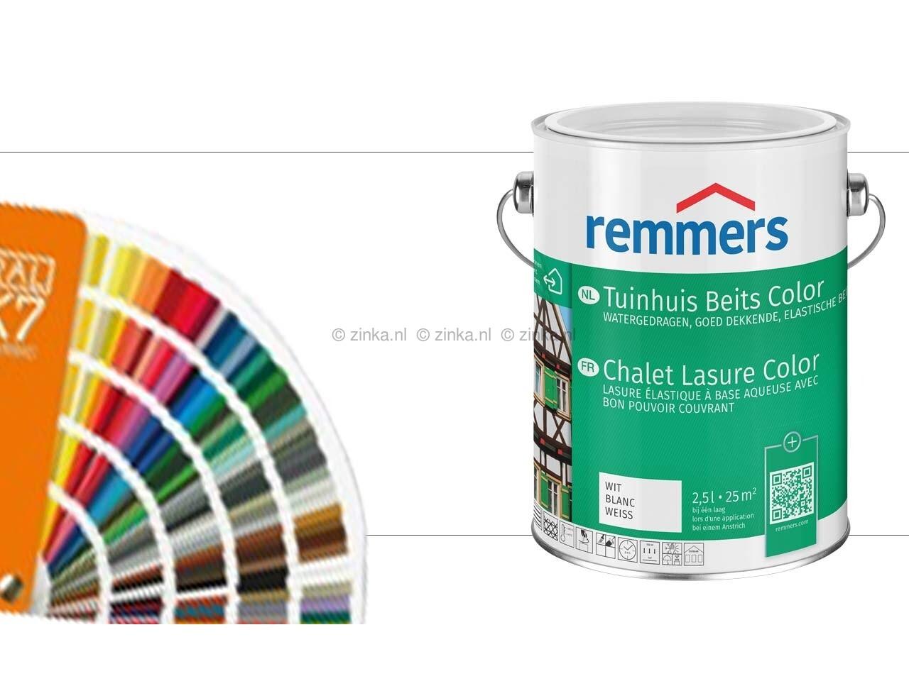 Tuinhuis beits color ral kleuren