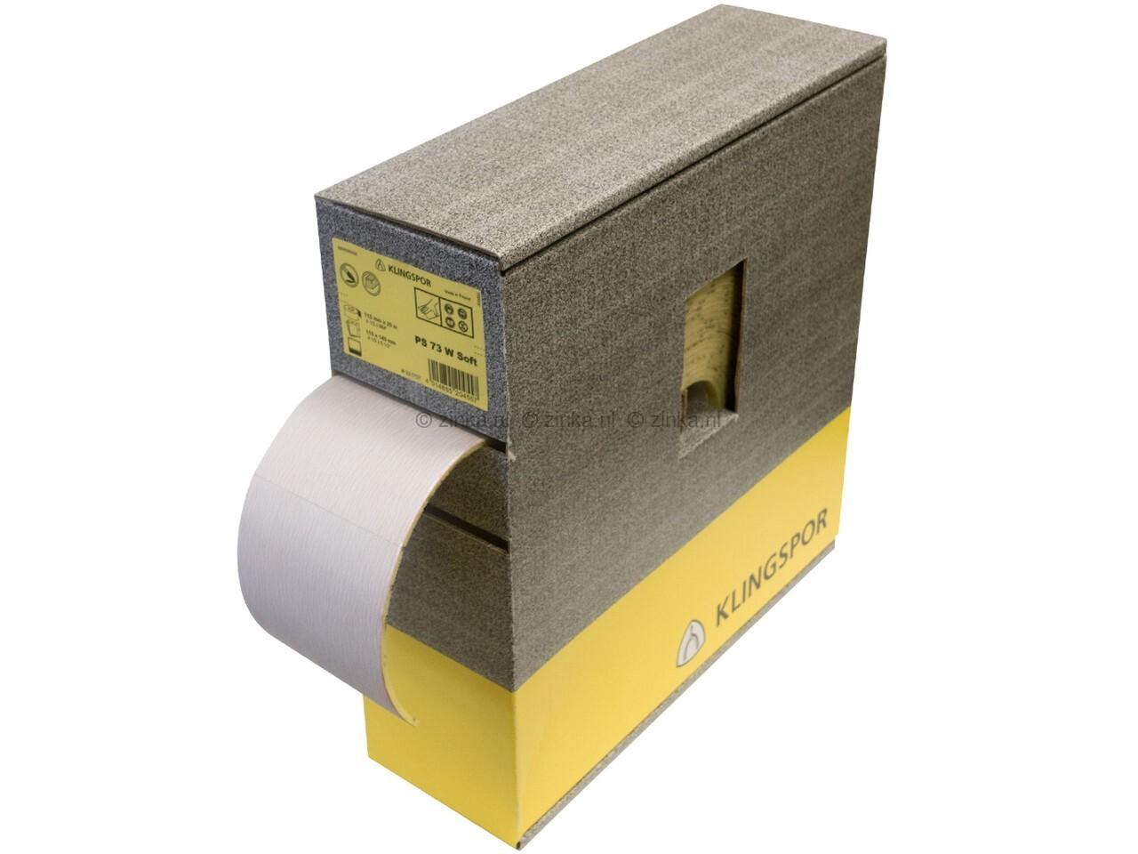 Schuurpapier pad ZK 32 korrel 180