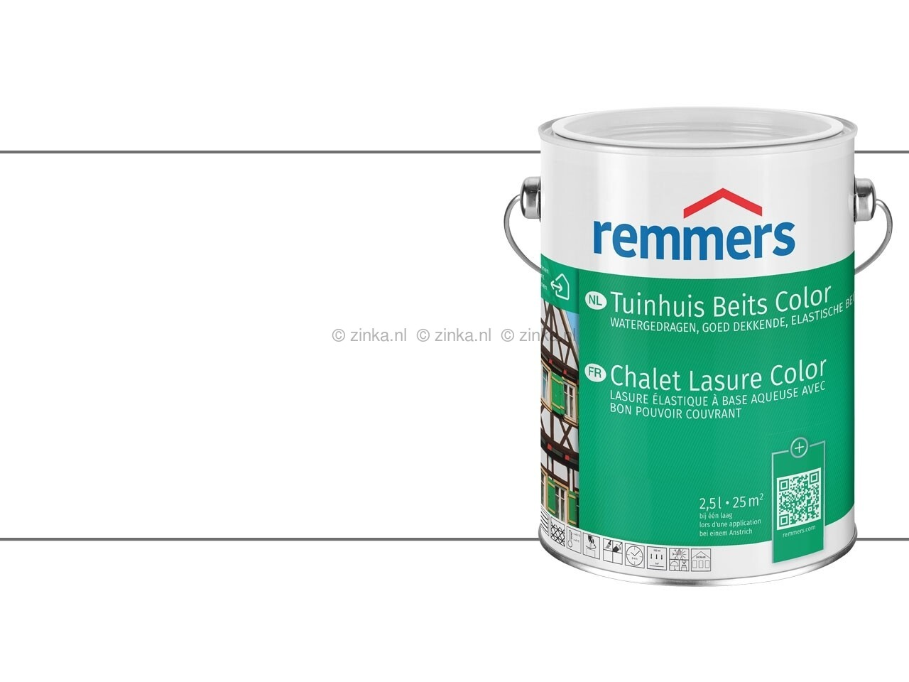 Tuinhuis Beits Color Wit 3600 RAL 9016