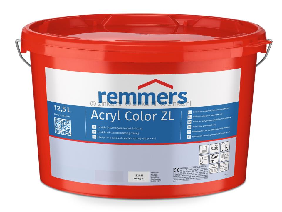 Color ZL zilvergrijs RAL 7001 voorheen Acryl Betonverf
