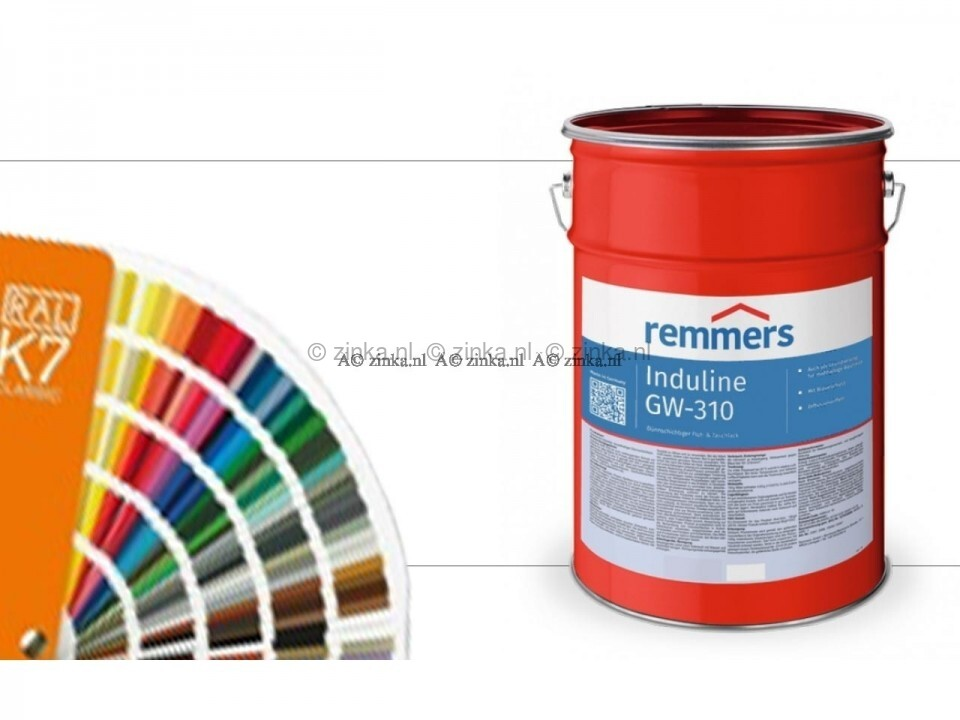 Induline GW-310 transparant RAL Kleuren
