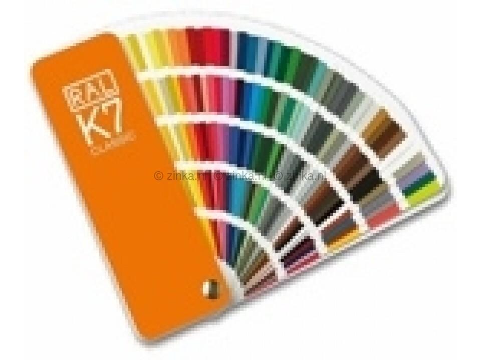 kleurenwaaier ral