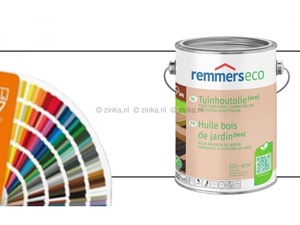 Tuinhoutolie Aqua Eco ZK 2637 speciaal kleuren / RAL-kleuren