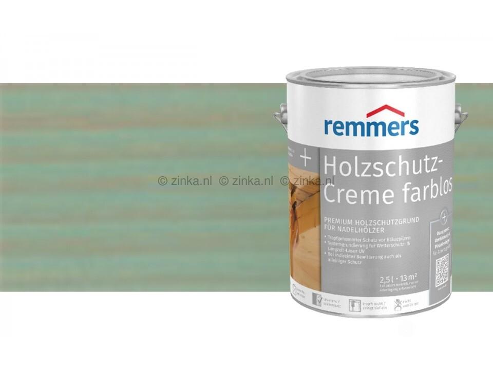 Houtbescherming creme - Zilvergrijs