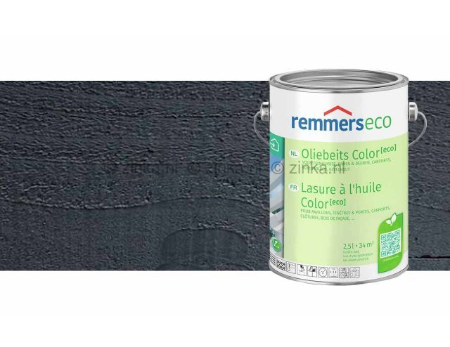 Oliebeits Color Eco - antraciet 7653