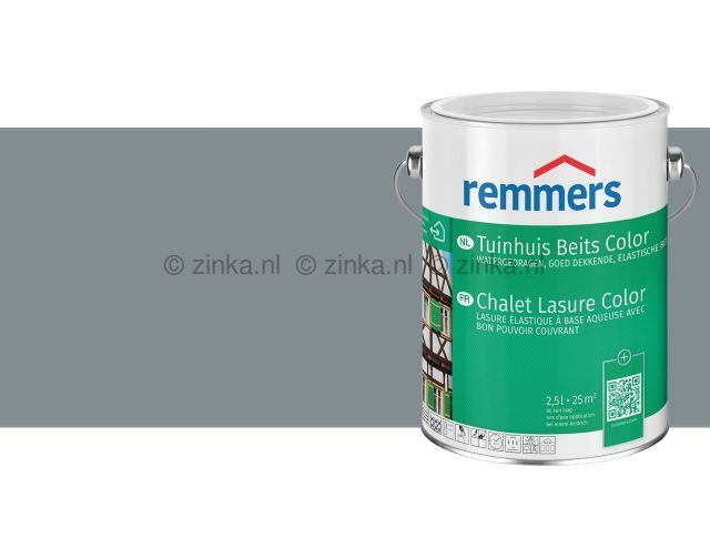Tuinhuis Beits Color Donkergrijs 3602