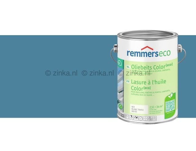 Oliebeits Color Eco - Duifblauw 7662