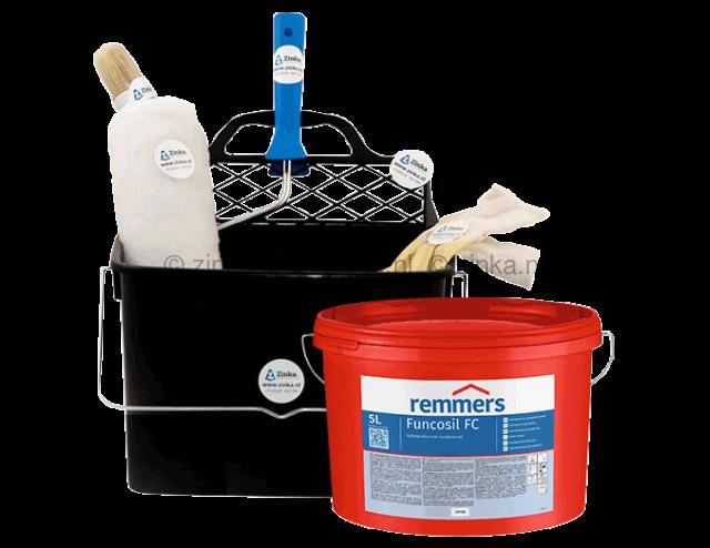 Funcosil FC  5 liter + verwerkingsset gratis ter waarde van 12,95