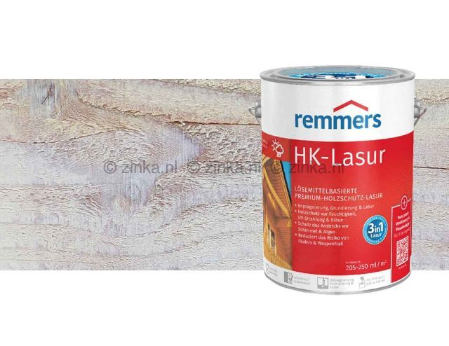 HK-Lazuur Wit 100 ml proefverpakking