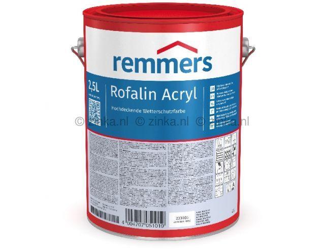 Rofalin Acryl - Wit