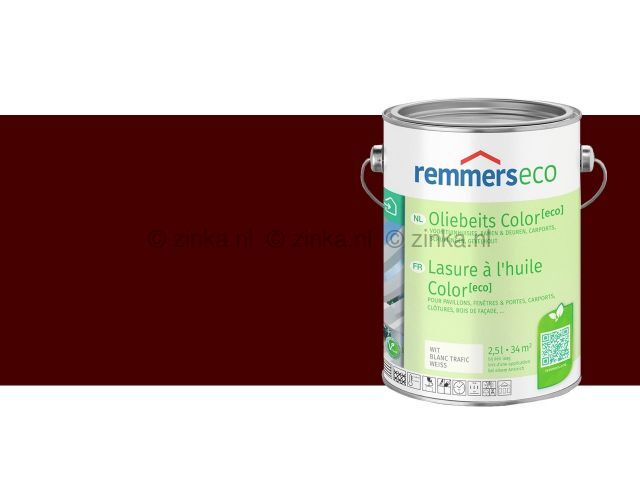 Oliebeits Color Eco -Roodbruin 7658