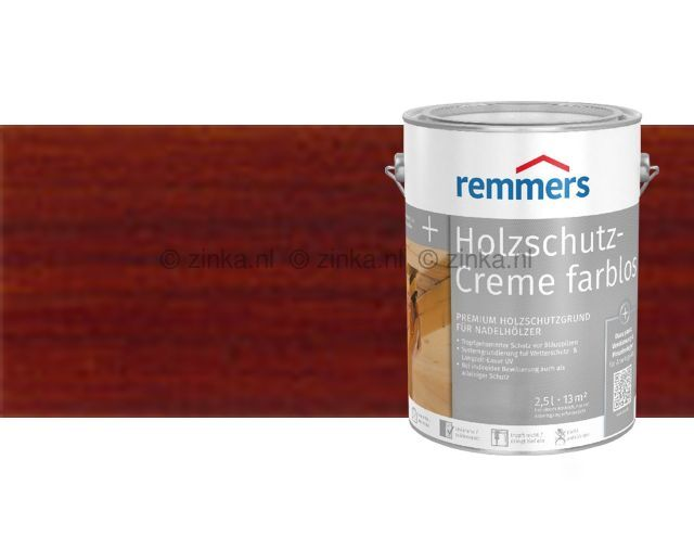 Houtbescherming creme - Teak 100 ml proefverpakking
