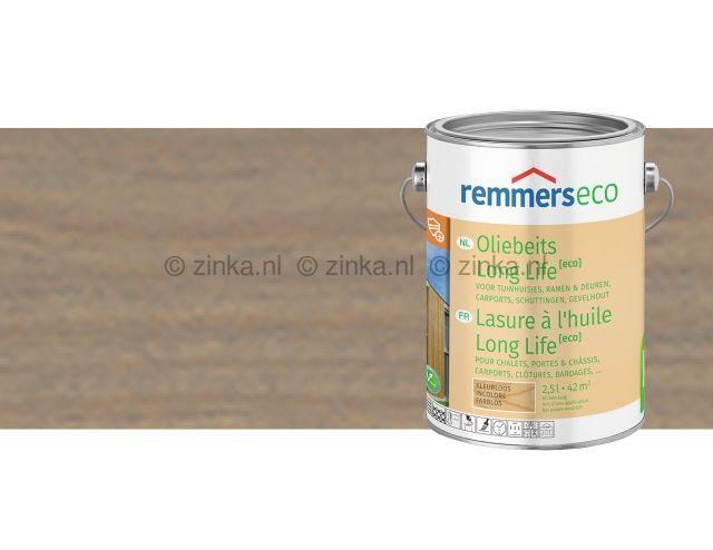 Oliebeits Long Life Eco - Zilvergrijs 7679