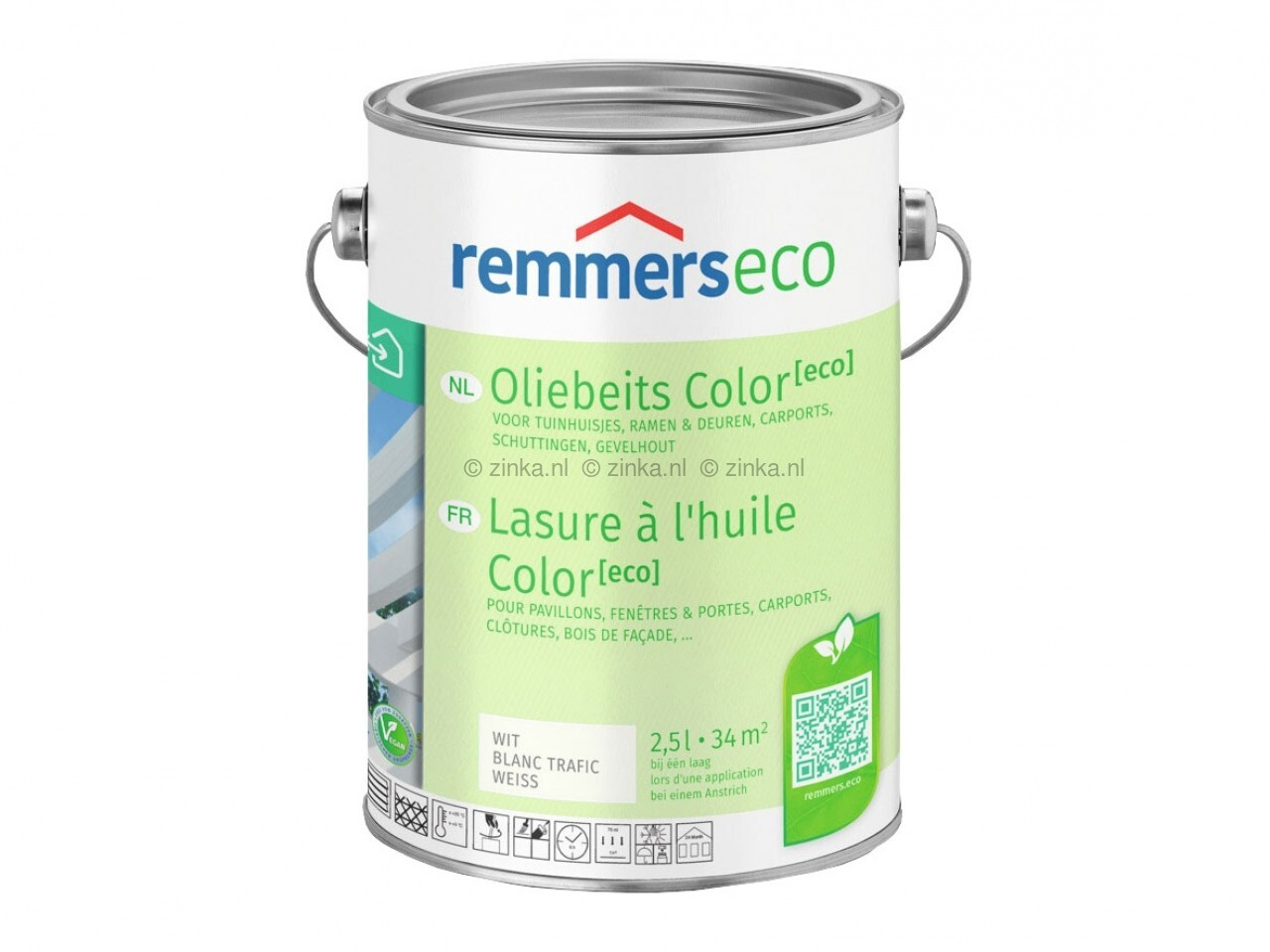 Remmers oliebeits color eco
