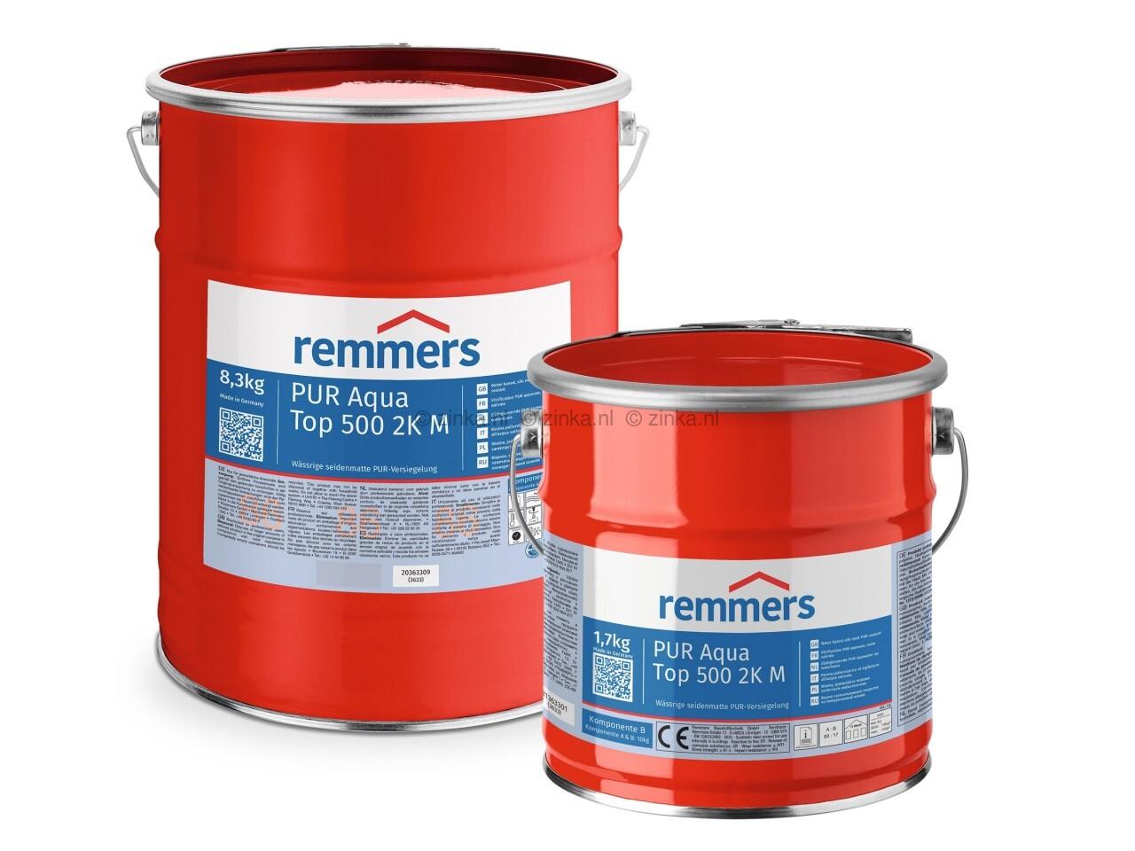 Remmers Pur aqua top 500 2K M zijdemat