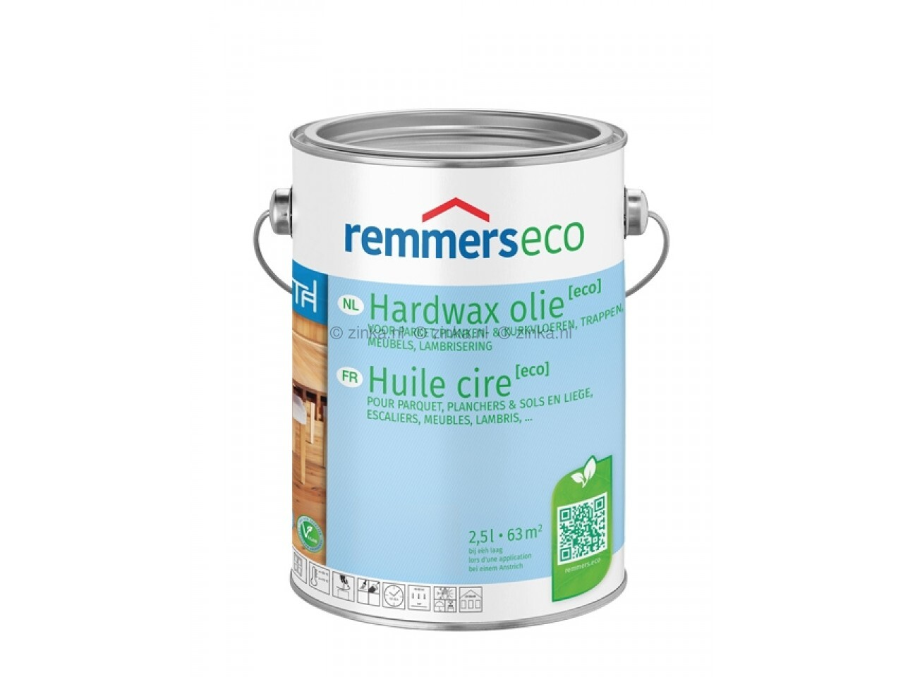 Remmers witte hardwax olie