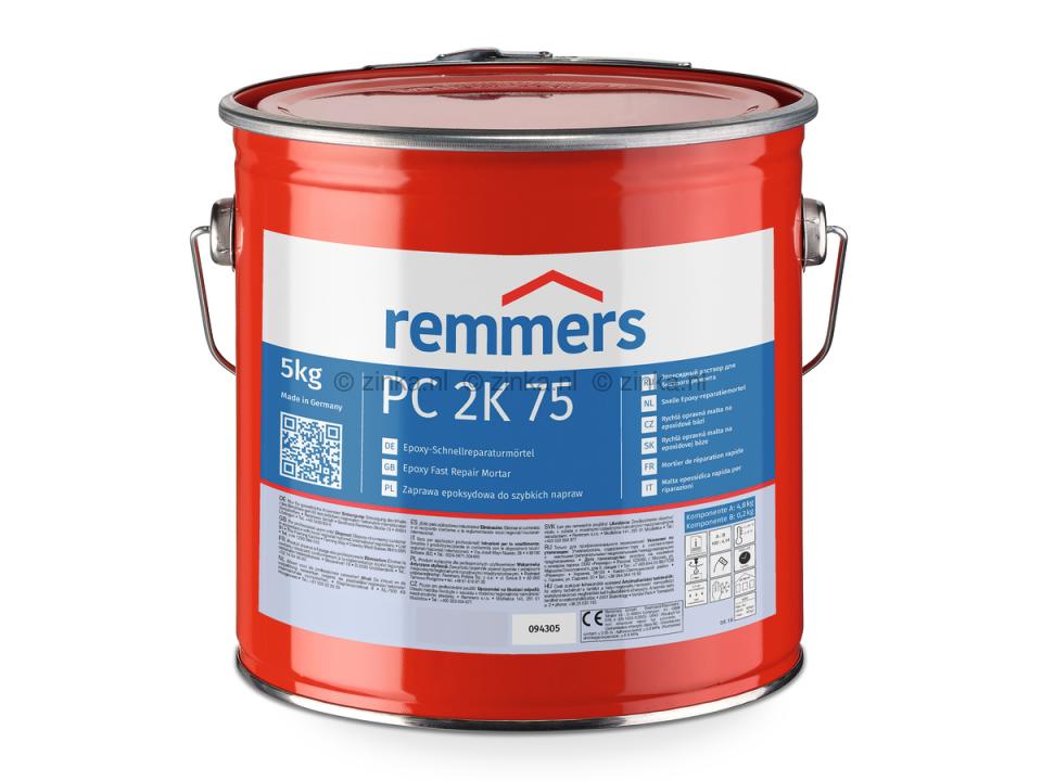 Remmers PC 2K 75 : Snelle, epoxy reparatiemortel   Remmers